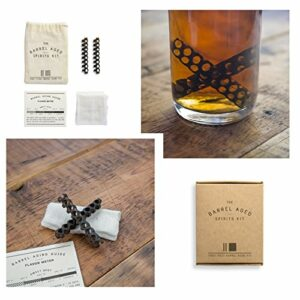 Barrel Aged Spirit Infusion Kit