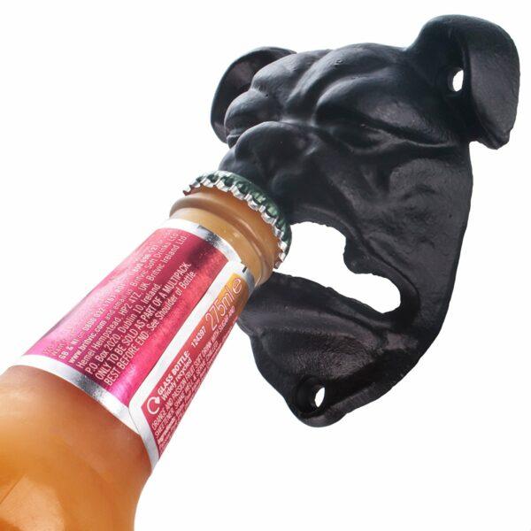 Bulldog bottle opener