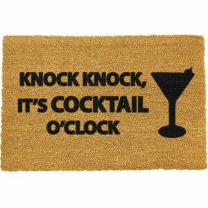Cocktail Coir Front Doormat