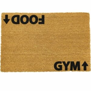 Food Gym Doormat