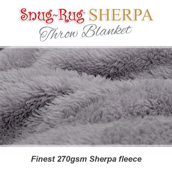 Lilac Grey Blanket