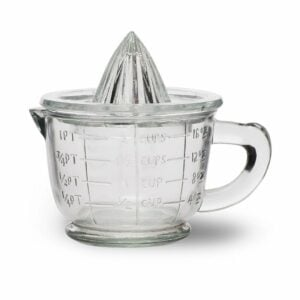 Glass Juicer and Measurement Jug