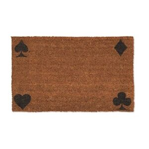 Front Doormat Solitaire Pack of Cards Symbols