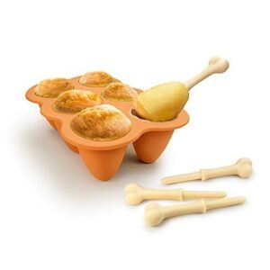 Fried Chicken Legs Silicone Baking Cake Pop Mould