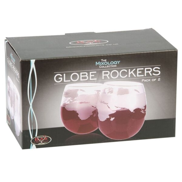 Globe rocker glasses