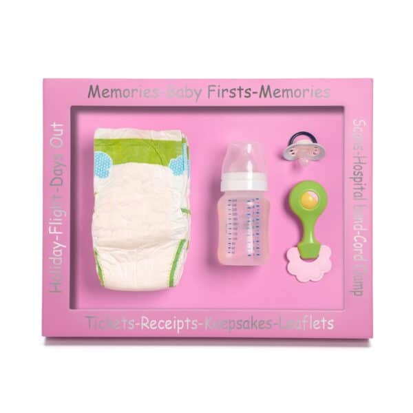 Baby Memory And Keepsake Picture Frame