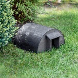 Black Hedgehog garden house 1