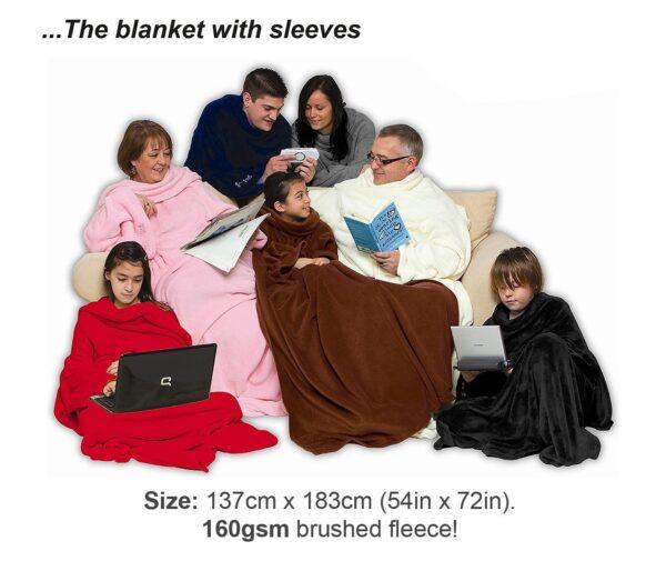 Grey Cosy Blanket