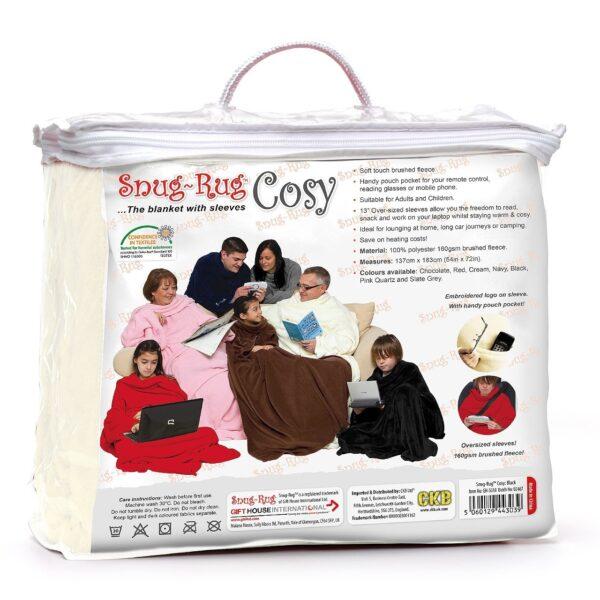 Cream Cosy Blanket