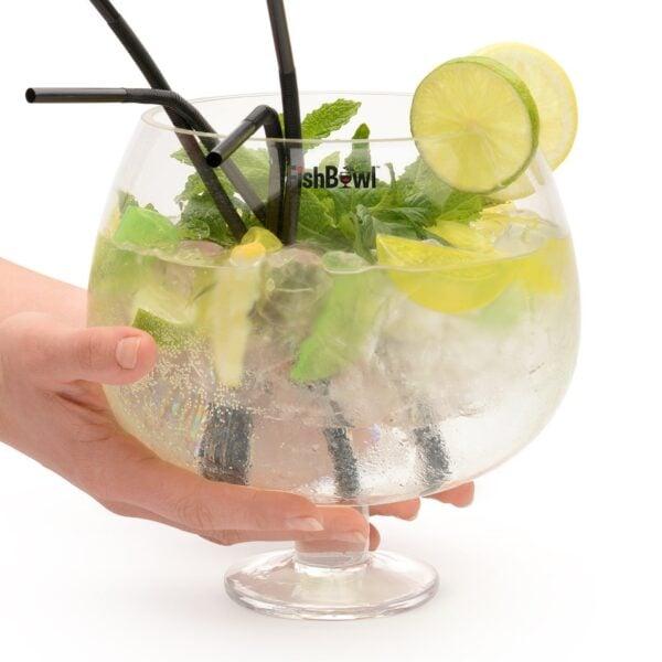 Glass Gin Copa Sharing Fish Bowl Cocktail