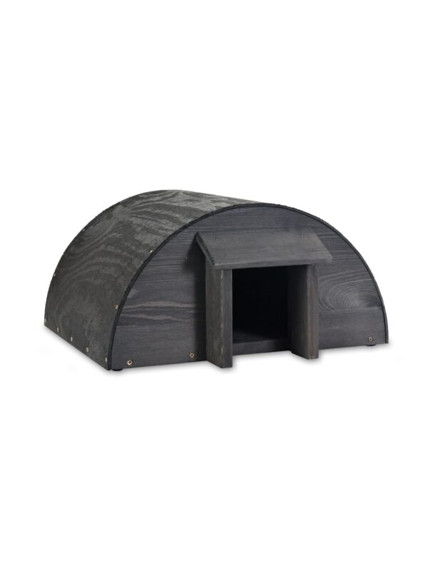 Black Hedgehog garden house 3