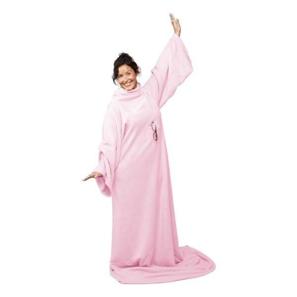 Rosa gemütliche Decke gemütlicher Teppich