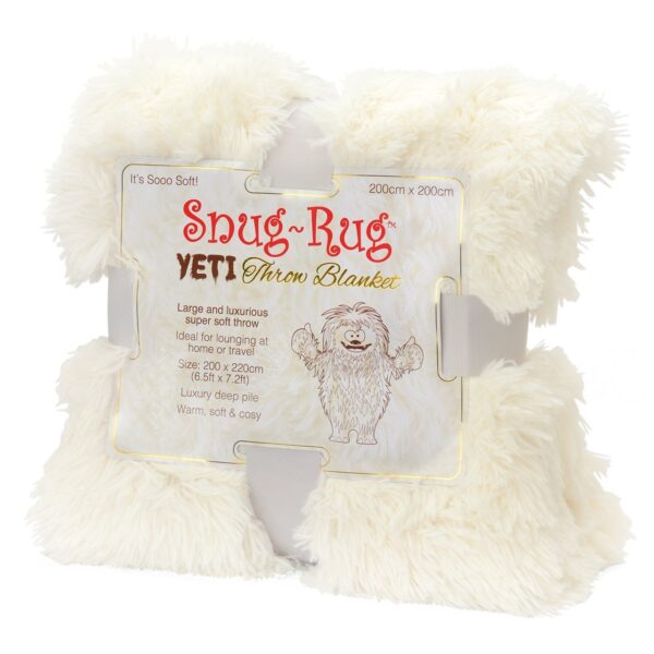 Snug-Rug YETI Throw Blanket