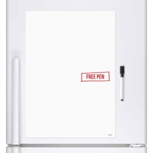 A4 Magnetic Whiteboard Fridge Board