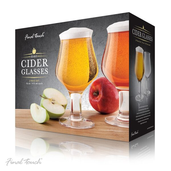 Final Touch Hard Cider Brille