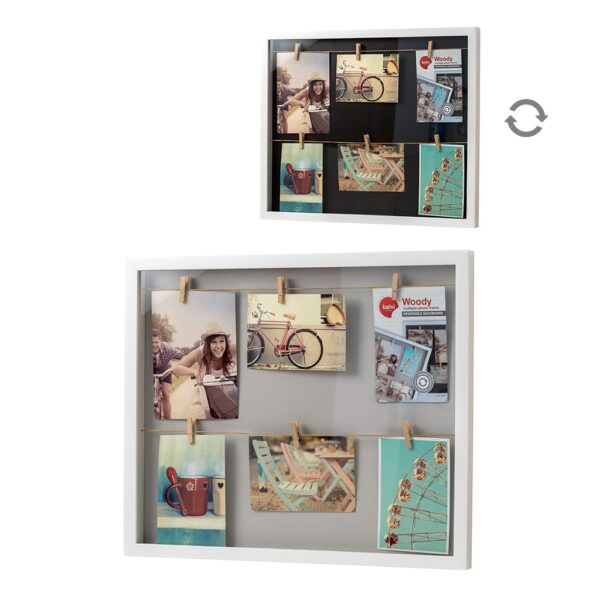 Photo line peg frame