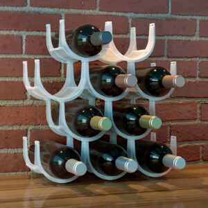 Modular Wine Rack 10 Bottle Storage