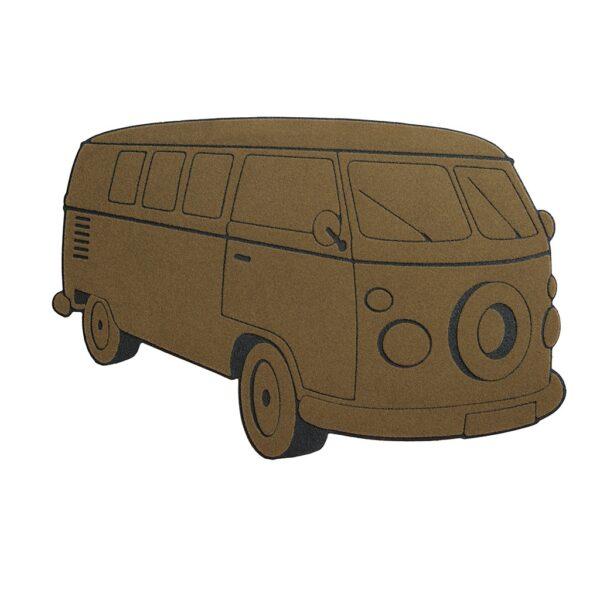 VW Campervan Outdoor Doormat Entrance Door Mat-0
