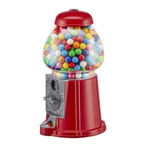 Retro Coin Operated Gumball Machine Sweet Dispenser