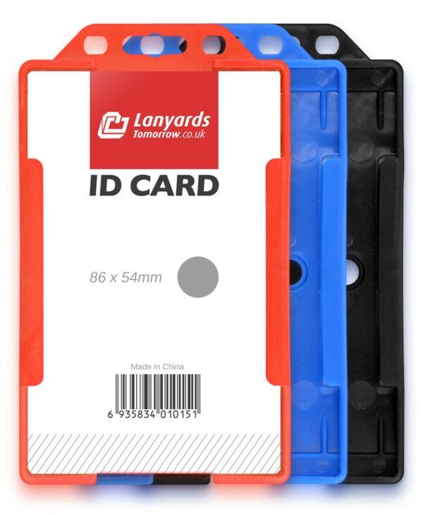 Vertikaler starrer ID-Plastikausweiskartenhalter