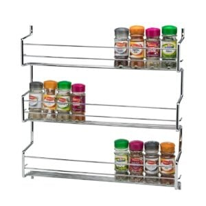 Wall Cupboard Door Mounted Spice Rack