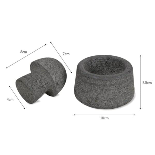 Granite Pestle and Mortar Dimensions