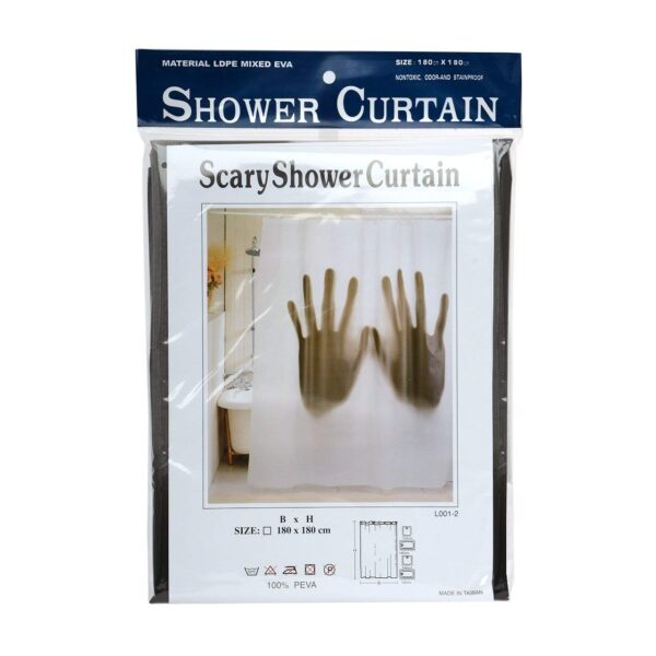 Scary Hands Shower Curtain