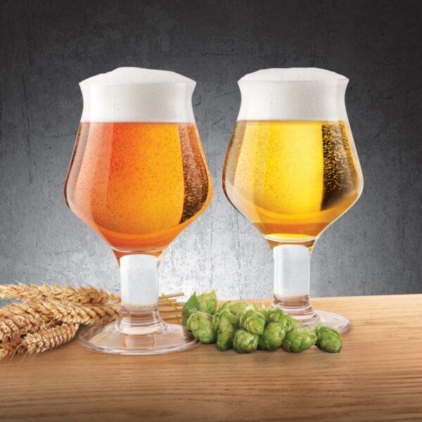 Final Touch Set mit 2 Craft Beer Gläsern