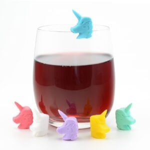 Unicorn Wine Glass Markers