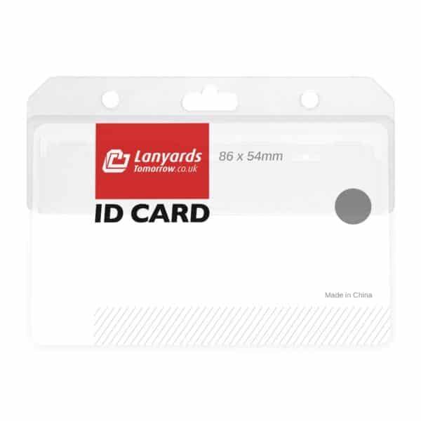 Half Card Swipe Access ID Badge Holders