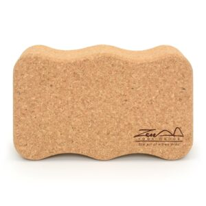 Cork Yoga Block Brick Onda