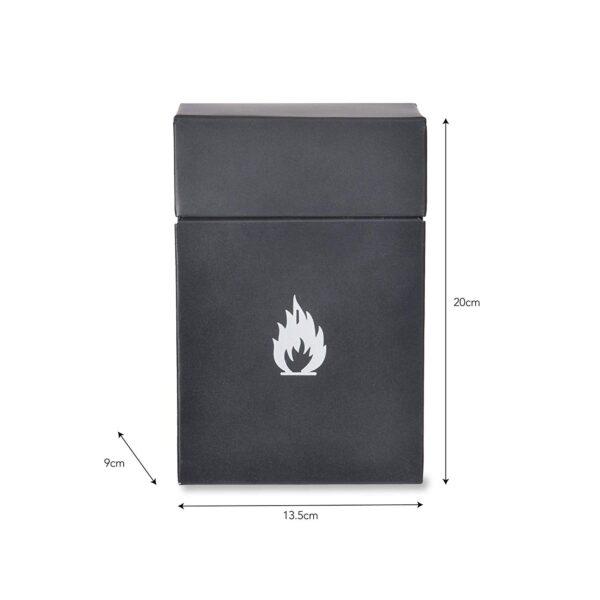 Firelighter storage box 2