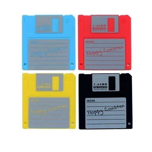 Floppy Disk Drink Coasters 3