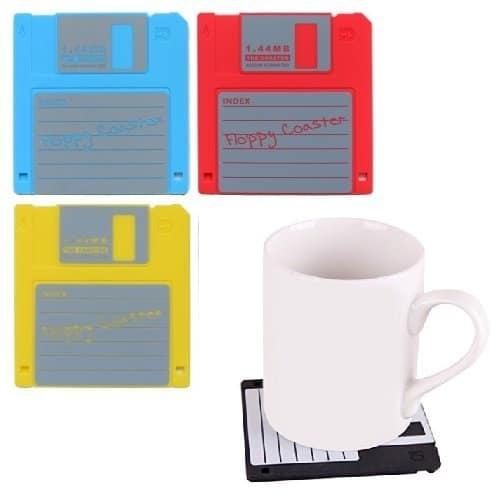 Floppy Disk Drink Coasters 1