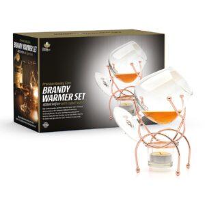 Brandy Warmer Set