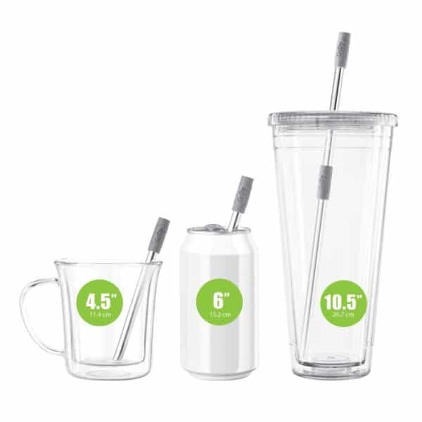 GoSip Stainless Steel Reusable Straw