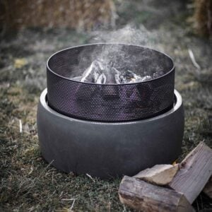 Small Round Fire Pit 1