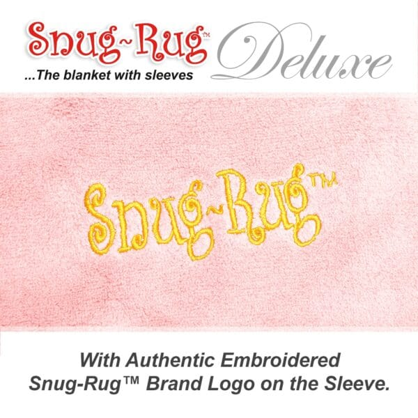 Pink Quartz Snug-Rug DELUXE Blanket