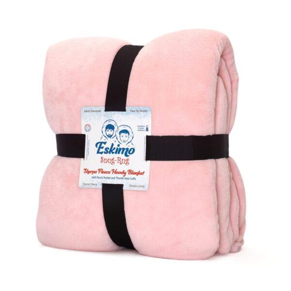 Snug Rug Eskimo Decke Hoodie rosa