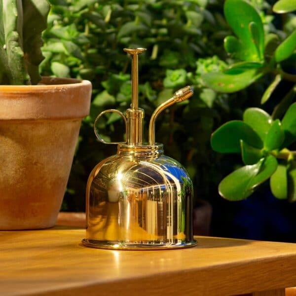 Brass Plant Mister Metal Water Sprayer