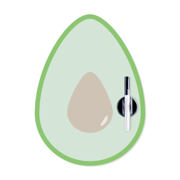 Avocado Magnetic Fridge Board