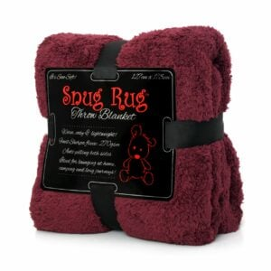 snug rug plum throw