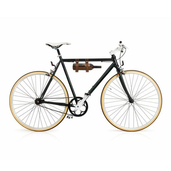 bike wine bottle caddy