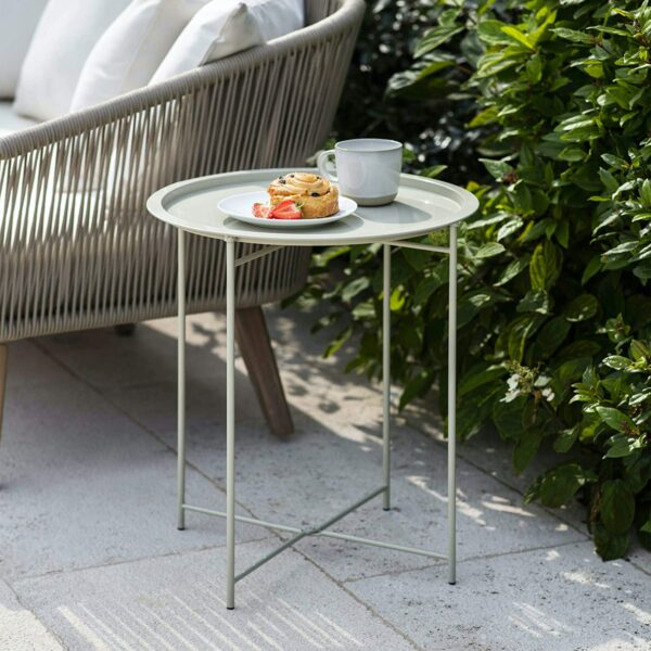 clay bistro table