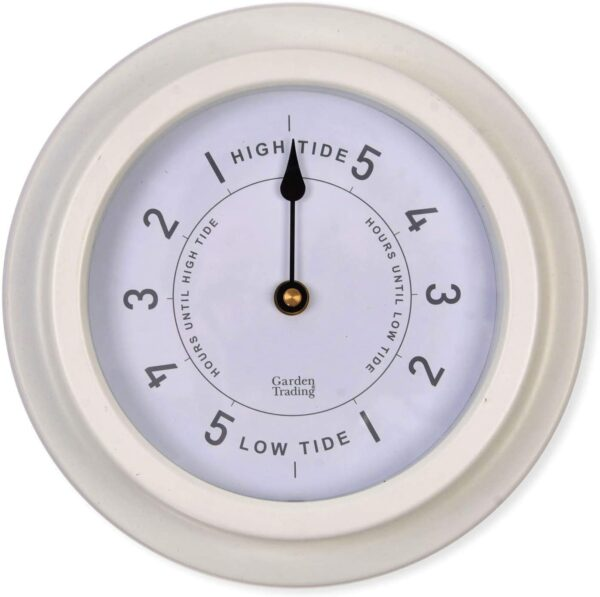 white tide clock