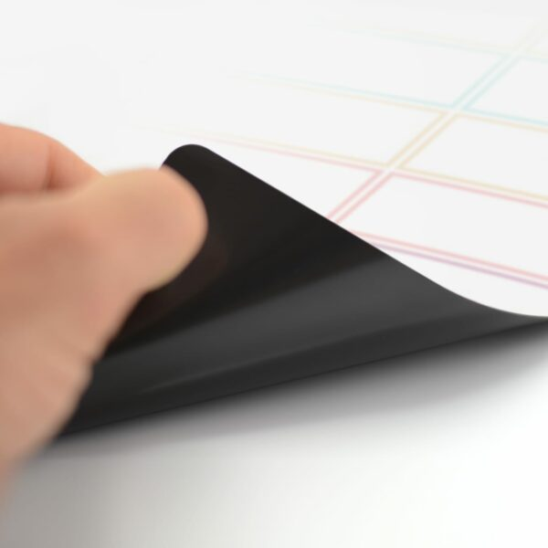 Magnetic Planning Fridge Whiteboard Week Diet Meal Planner   Free Pen   A3