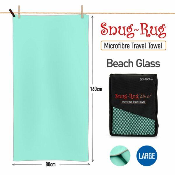 Beech Glass Turquoise