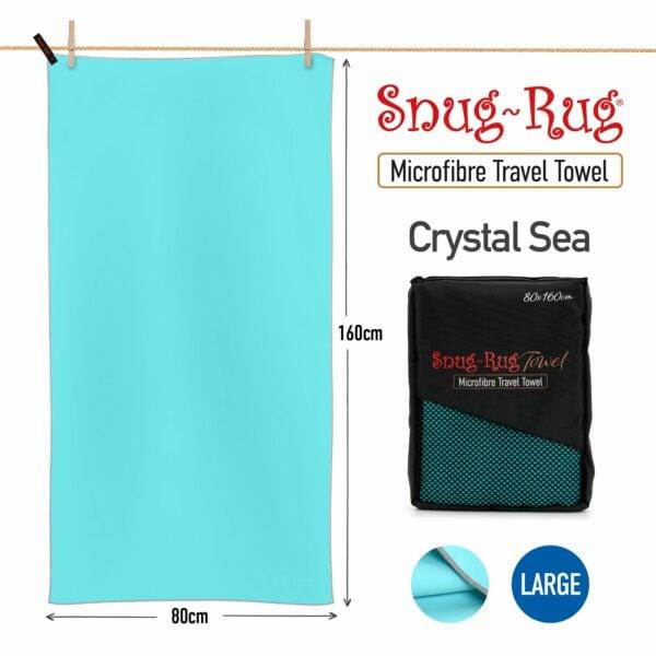 Crystal Sea Blue