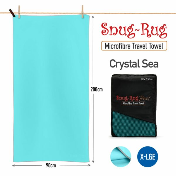 Crystal Sea Blue XL