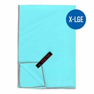 Kristall Meerblau XL
